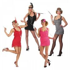 Flapper Costume Adult 20s Gatsby Girl Halloween Fancy Dress