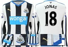 *15 / 16 - PUMA ; NEWCASTLE UTD HOME SHIRT LS + PATCHES / JONAS 18 = SIZE*