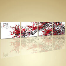 Oversized Wall Art Huge Picture HD Modern Abstract Floral Blossom Tree On Canvas