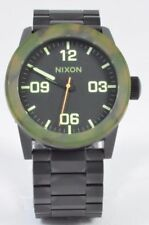 Nixon THE PRIVATE SS Mens Stainless Steel Band Wristwatch NEW