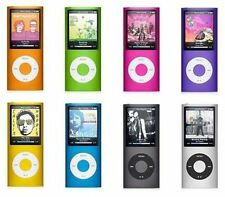 Apple iPod Nano 4th 8GB 16GB MP3 Player Blue Silver Black Pink Orange Green Red