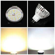 MR16 12V Bright 420LM 12W 24SMD 2835 LED Spot Bulb Lamp White light GU5.3 Base