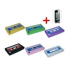 Retro Cassette Protective Shell for Apple iPhone 4 Cover Case Silicone Skin 4 4S
