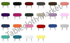 """12 Pack 70"""" Inch round Polyester Tablecloth 24 COLOR Table Cover Wedding Banquet"""