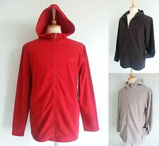 *NWT The North Face Mens Hoodie Full Zip Soft Fleece Jacket Red Black Gray S M L