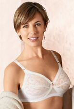 Original Soft Cup Cross-Your-Heart Non-Wired Bra from Playtex (Style 152) White