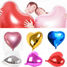 "32"" Giant Large Love heart Valentines Helium foil balloon party wedding birthday"