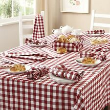 Gingham Check Kitchen Sets