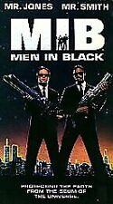 MEN IN BLACK ~ VHS Movie - NEW & Sealed - Will Smith ~ Comedy/Sci-Fi