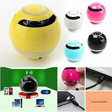 Bluetooth Wireless Mini Super Bass Stereo Speaker for iPhone 6 Samsung Tablet PC