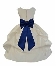 New Flower Girl Dress Pageant Wedding Party Birthday Formal Easter Graduation
