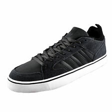 Adidas Originals Mens Varial 2.0 Low Classic Leather Trainers Grey *AUTHENTIC*