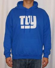 NWT New York Giants NFL Mens Hooded Fleece Sweatshirt