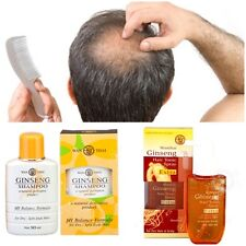WANTHAI GINSENG SHAMPOO and HAIR TONIC Spray For Hair Loss , Dandruff Natural
