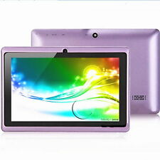 "Dual Core 1.2GHz  Android 4.4 7""inch Tablet Dual Camera PC Gift Present For Kid"