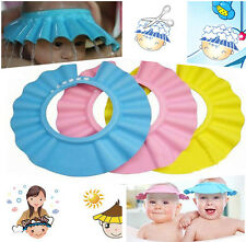Toddler Baby Kids Adjustable Hair Wash Hat Shampoo Bathing Shower Eye Shield Cap