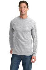 Port & Company® - Long Sleeve Essential T-Shirt with Pocket. PC61LSP Mens