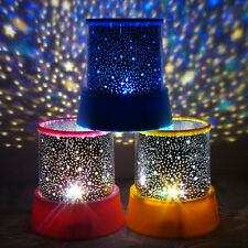 New Auto Rotate Romantic Gift LED Night Light Projector Lamp Flashing With Music