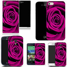 gel rubber case cover for  Mobile phones - petal rose silicone