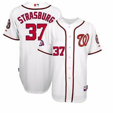 2015 Stephen Strasburg Washington Nationals Authentic 10th Home Cool Base Jersey
