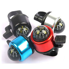 PC Multicolour Compass Metal Ring Handlebar Bell Sound Bike Bicycle Accessory