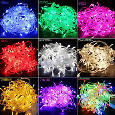 Waterproof 10M/20M 100/200LED Bulbs Christmas Pretty Fairy Party String Lights