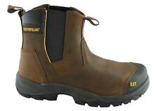 Mens CAT Safety Steel Toe Cap & Midsole Caterpillar Slip On Chelsea Ankle Boot