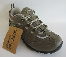 "Womens  Active Shoes Hi-Tec ""QUADRA LIFE"" Olive Green/ Lt Grey  UK 4 X 7"