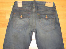 NWT Men's TRUE RELIGION Ricky Relaxed Straight Jeans (Retail $248.00 )