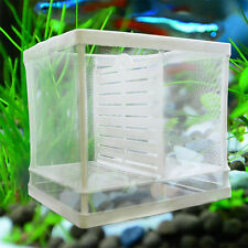 1x Aquarium Fish Tank Baby/Fry/Newborn Net Breeding Breeder Trap Box Hatchery