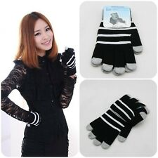 New Style Full Finger Knit Mittens Smartphone Touch Screen Gloves For iPhone