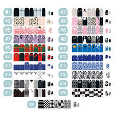 Fashion Self Adhesive Polish Foils Nail Art Stickers Manicure Decals Wraps Tips