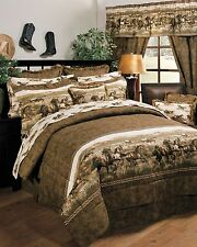 Wild Horses 11 pc Comforter Set by Karin Maki - Complete Bed In A Bag