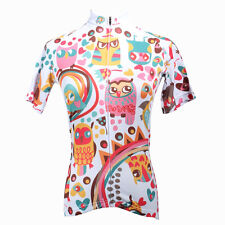 Cycling Clothing Sport Bike Jersey Breathable Girl Bicycle Shirt Colorful Eagle