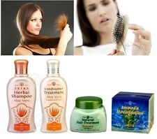 EXTRA Herbal Shampoo Aloe Vera and Conditioner Treatment For Dry Hair Split Ends