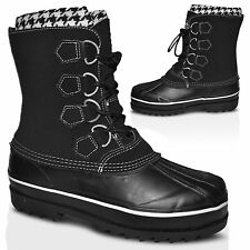 LADIES WINTER BOOTS SNOW MUCKER WOMENS WATERPROOF RAIN WELLY WELLINGTONS SHOES