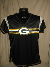 NFL Green Bay Packers Football Black Out Draft Me Jersey Shirt Womens Sizes