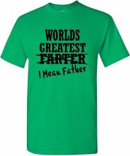Dad Gift T Worlds Greatest Father Shirt Farting Tee Funny Dad Shirt Day Daddy S