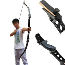 """16-34LBS 68"""" Longbow Recurve Take Down Bow Alloy Riser Archery Hunting Training"""