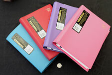 Diary 2016 Collins Vanessa A5 Day to Page Stitched PVC Wiro Choice of 4 colours