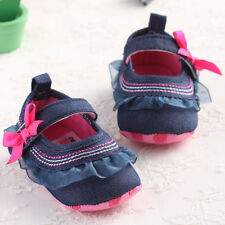 Baby Girl Toddler Soft Shoes Infant Walker Crib Sandals Bebe Prewalker 3 Size