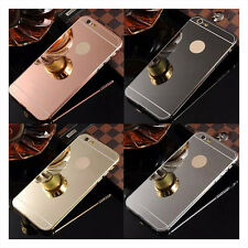 Luxury Ultra-thin Mirror Metal Aluminum Case Cover For iPhone 5S 6 6 Plus