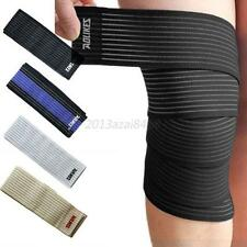 Knee Elbow Wrist Shin Support Wrap Strap Brace Compression Bandage Sprain Strain