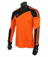 Adidas Youth Climacool Soccer Toque 13 Jersey L/S Orange Shirts Junior Z20277
