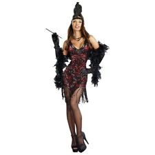 Flapper Dress Costume Adult Roaring 20s Halloween Fancy Dress