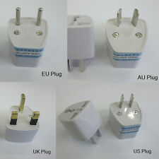 1pcs Universal US AU KOREA 2-Prong AC Travel Converter Adapter Power Plug
