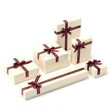 6 Sizes Paper Gift Boxes Case For Bangle Jewelry Watch Box Necklace Ring Earring