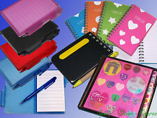 Notebook, Spiral notebook, Notepad, Note Book also with Ballpoint