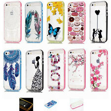 Incoming Call LED Flash Light UP Blink PC Bumper Cover Case For iPhone 6s Plus