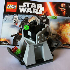STAR WARS lego 75132 FIRST ORDER BATTLE PACK set NO MINIFIGS force awakens NEW